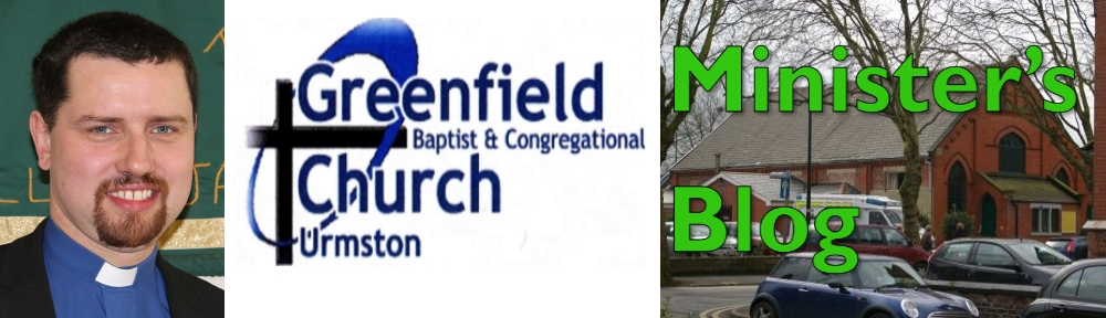 "Thursday Thoughts (on Friday!): August ""Baptist Voice""Stephen's Greenfield Blog"